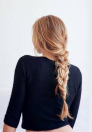 boucler ses cheveux sans fer avec une tresse